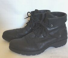 Merrel Womens Leather Ankle Boots 6 EUR 36 Booties Black, Vera Slip On, Lace Up