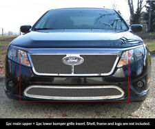 Fits 2010-2012 Ford Fusion Mesh Grille Combo Insert