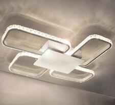 LED Deckenlampe Kristall Decken Wand Lampe Leuchte Design 54cm Neutralweiß 25W