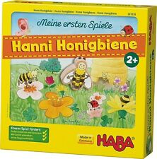 Ab 2 Jahre Haba Spiel Meine ersten Spiele - Hanni Honigbiene 1-4 Spieler 301838