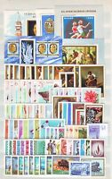HUNGARY - 1968. Complete year set of 87 stamps and 5 s/s - MNH
