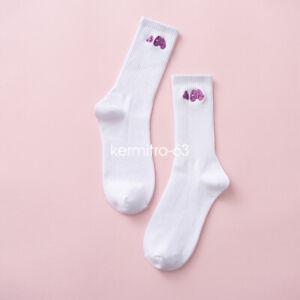 PALM Angels Socks Unisex Fashion Socks Crew Socks Multi-color Socks 1pair/pack