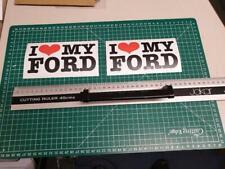 I Love My Ford Focus  Fiesta Galaxy Car Sticker Decal JDM Tuning