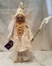 "Reuge Music/Xenis Exquisite Hand painted Musical Doll-""Akamina'"