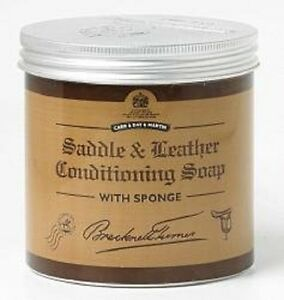 Carr & Day & Martin Saddle And Leather Conditioning Soap a matt finish 250ml