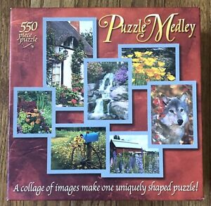 Hasbro/Milton Bradley 550 Piece Puzzle - Puzzle Medley - NEW!