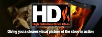 New Flavel Replacement HD Woodburning/Multifuel Stove Glass All Models
