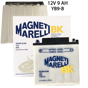 Batteria Magneti Marelli YB9-B Moto Per PiaggioApe 50 cc 1998>2008