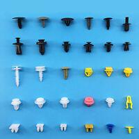 200Pcs/Pack Car Various Plastic Rivet Fastener Push Pin Trim Moulding Clip Panel