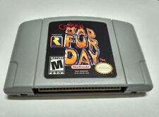 Conker's Bad Fur Day Nintendo 64 N64 Game Cartridge card