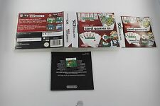 NINTENDO DS NDS BEST OF CARD GAMES DS COMPLETO PAL ESPAÑA