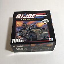 GI Joe Puzzle 100 Piece 2002 MB Hasbro New Real American Hero 10 X 13 49260-1