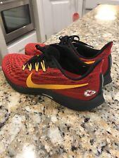 Nike Kansas City Chiefs Air Zoom Pegasus 36 Running Shoes CI1930-600 SIZE 11.5
