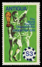 ANTIGUA 517 (SG592) - ARGENTINA '78 World Cup Football (pa14949) MH