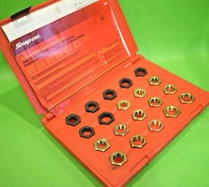 Snap On Tools Master Spindle Rethreading Set - Fractional & Metric (330) RD20