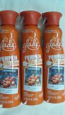 3 Glade Pumpkin Pit Stop Limited Autumn Fall Edition Spray Air Freshener 9.7oz