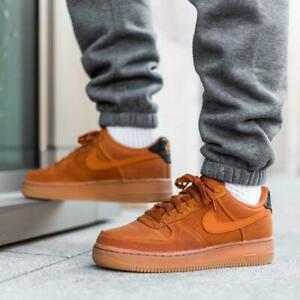 Nike Men's Air Force 1 Low 07 Monarch Gum Size 11 Uk 46 Eu [AQ0117-800]