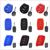 Silicone Key Cover Case For Seat Ateca Leon Ibiza Altea Toledo Fob Shell Skin