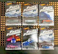 2018 Hot Wheels 50th Anniversary Fast and Furious Set of all 6  or Select