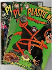 🚚 Plastic Man #'s 6,7 & 9 DC 12c Silver-Age 3 Book Lot 1967 in VG