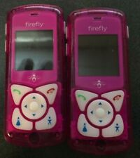 READ 1ST (1) Firefly Mobile glowPhone PINK (UNLOCKED) Cell Phone Very Good Used