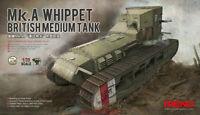 Meng TS-021 Model 1/35 British Medium Tank Mk.A Whippet BRAND NEW