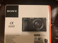 Sony Alpha a6000 Mirrorless Digital Camera with 16-50mm Lens - Brand New