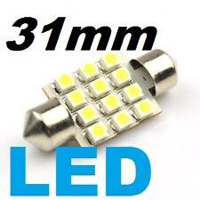 31mm LED Festoon 6000K White 12 LED Light Bulb Dome Map 3022, 3175  TOP QUALITY