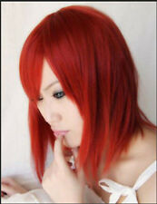 NEW Cute Short Kingdom Heart Kairi Red Wigs Cosplay Party Costume Wig Z34