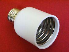 Erweiterung Adapter E27 auf E40 / E27-E40 Konverter für Glühlampen Halogen LED