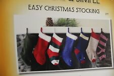 Knitting Pure & Simple Pattern 277 Easy Christmas Stocking