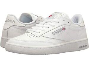 Reebok Classic Club C 85 White Sheer Gray AR0455 Mens Casual Shoes Sizes