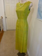 New listing Amazing Custom Made Silk Maxi Dress With Cape Sz 4/6