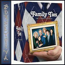 FAMILY TIES  - COMPLETE SERIES SEASONS 1 2 3 4 5 6 & 7 *BRAND NEW DVD BOXSET***