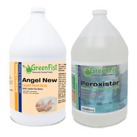 GreenFist Liquid Hand Soap (1 Gallon) + Peroxide Cleaner (1 Gallon)