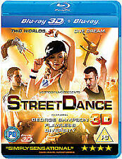 Street Dance 3D (3D Blu-ray) (For 3D TV'S) - Free Postage - UK Seller