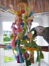 Papageienspielzeug Birdy Party Fun Medium, Buchenholz und Naturkork, **Neuheit**