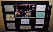 ON THE BUSES SIGNED BY 8 VARNEY,GRANT,ROBBINS,HARE SIGNED AUTOGRAPH DISPLAY UACC