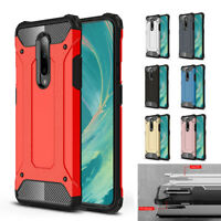 Shockproof Heavy Duty Hybrid Protective Hard Back Case Cover For Oneplus 7 7 Pro