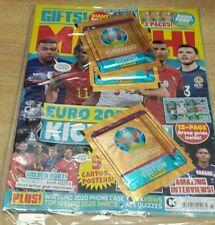 Match magazine #2124 2021 Euro Kick Off + Euro Stickers