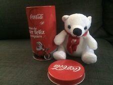 Canned bear Coca-Cola  CHRISTMAS 2016 Mexico RARE COCA COLA NAVIDAD rare