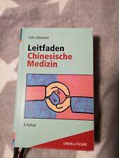 Leitfaden Chinesische Medizin Claudia Focks Traditionelle TCM Fachbuch Lehrbuch