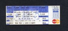 1999 Bob Dylan Brian Setzer unused full concert ticket Tallahassee FL