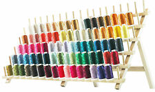 MACHINE EMBROIDERY THREAD - NEW 80 COLOR POLYESTER SET A&B- BROTHER SIZE SPOOL