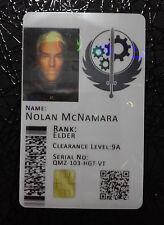 Brotherhood of Steel Novelty Cosplay ID Badge Card - Fallout - *CUSTOMISABLE*