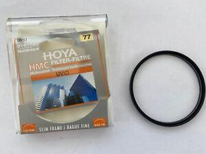 Hoya HMC UV(C) 77mm Digital Screw-In Filter Excellent Condition