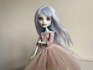 Monster high doll ooak repaint custom