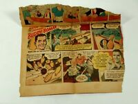 Vintage 1946 R J Reynolds Tobacco Buddy Bomar Comic Strip Camel Advertisement