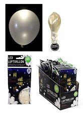 Led Luftballons weiß Party Hochzeit Leuchtballons Dekoration