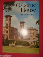 Osborne House Isle of Wight 1981 UK Guide History Booklet Queen Victoria